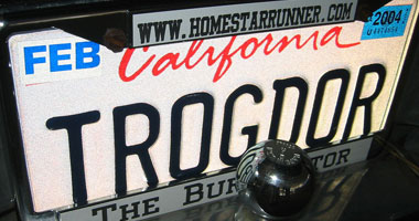 Trogdor License Plate - photo by emdot