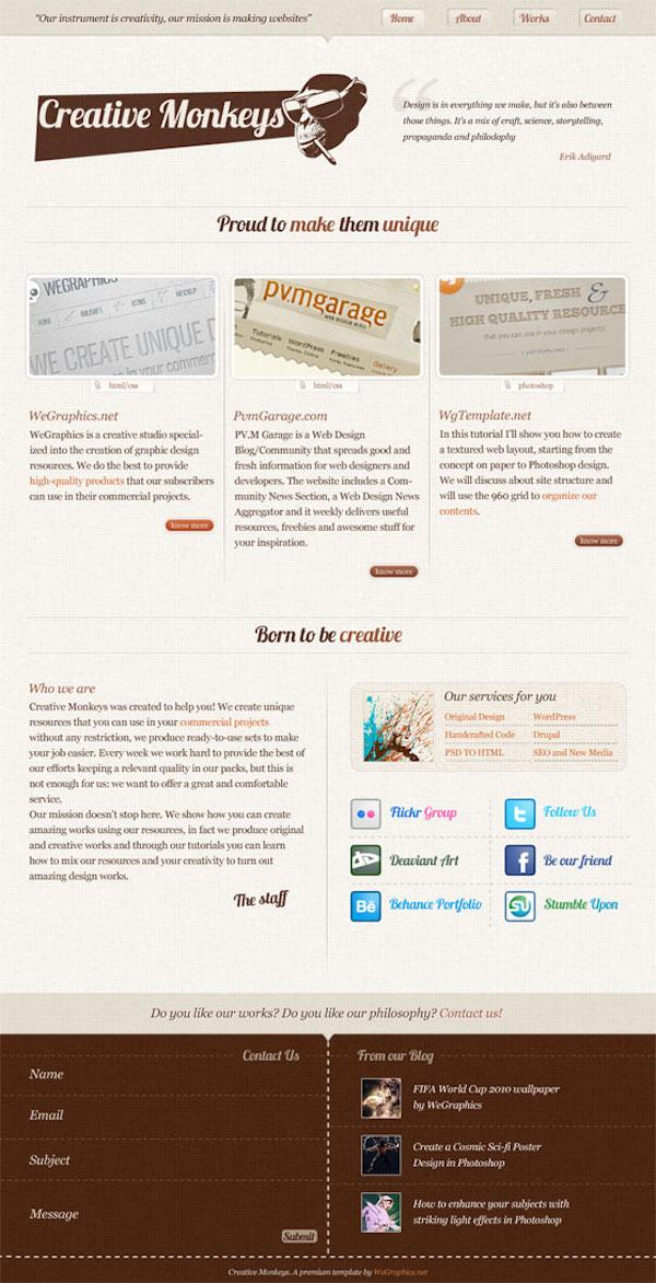 psd-to-html-css-tutorials