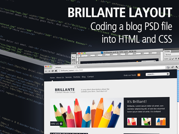psd-to-html-css-tutorials