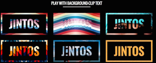 Background Effects Css Css-text-effects