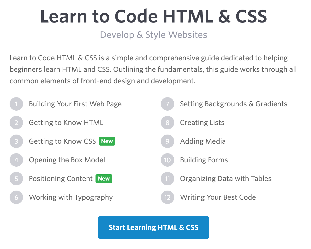 HTML.com: Study HTML and Learn to Code With Our Step-By ...