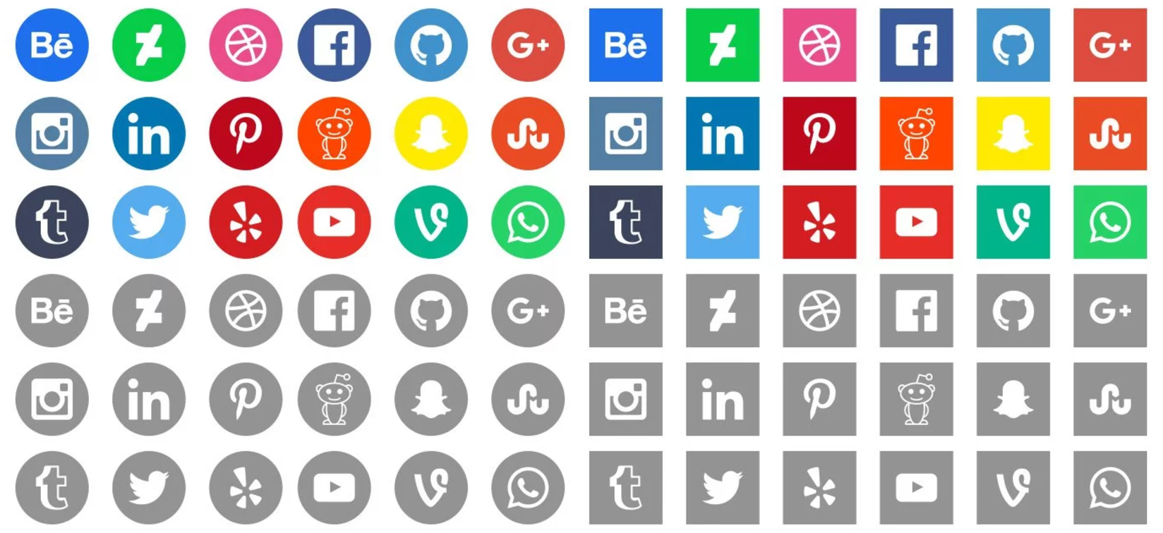 how to get social media icons off the screen